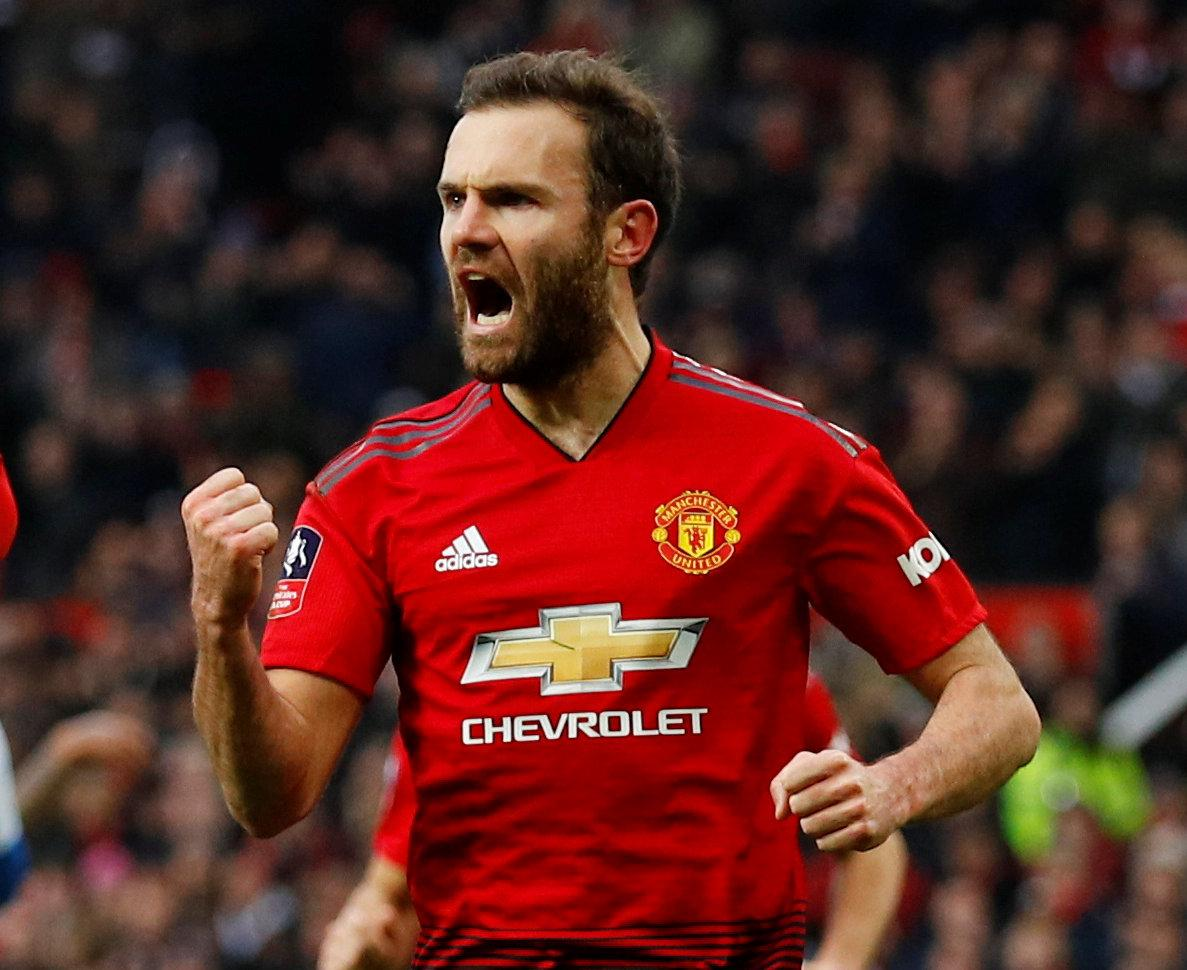 Mata Makes Top-Four Claim
