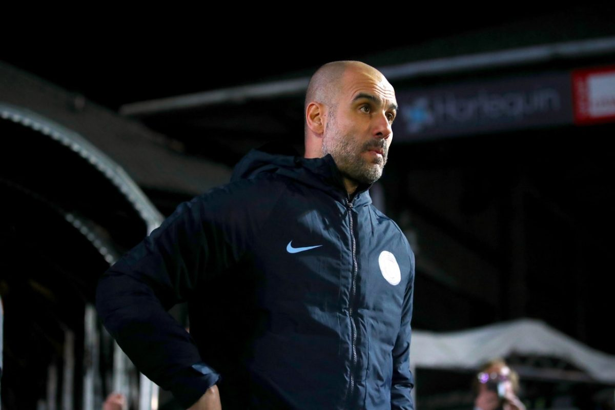 Pep Ignoring Old Trafford Showdown