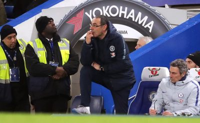 Sarri keeps cool as fans turn on him