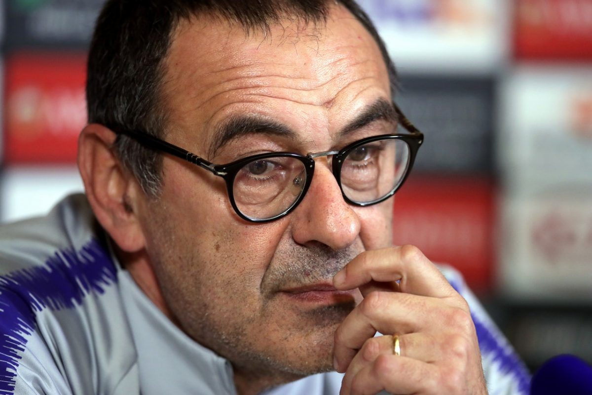 Sarri: I'm Fully In Control Of Chelsea Dressing Room