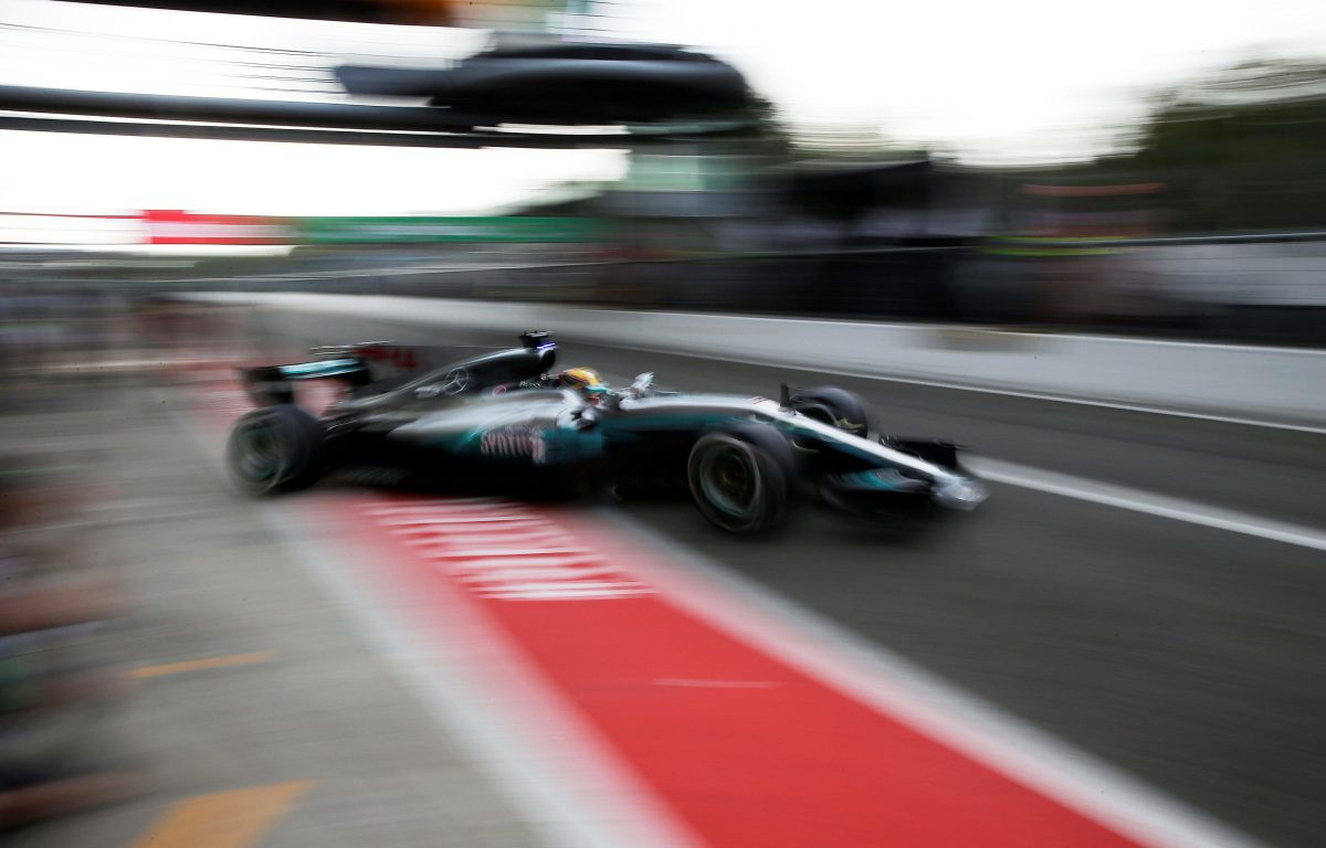 Mercedes Silver Arrows Reveal New Car Outing