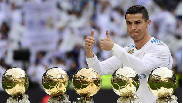 CR7 is playing hard for the 6th Ballon d'Or