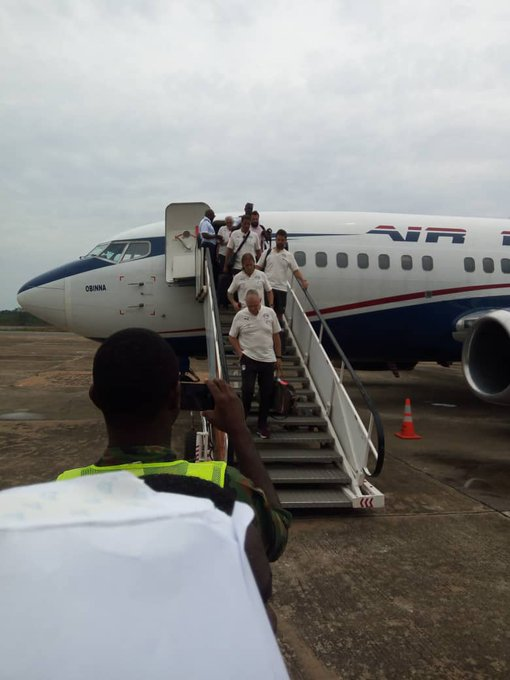 Egypt Arrive Asaba For Super Eagles Friendly