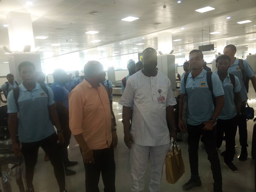 2019 AFCON Qualifiers: Seychelles Land In Abuja, Set To Fight Eagles For Pride In Asaba