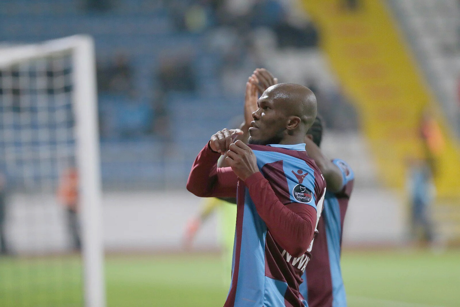 Nwaekeme  Targets Successful Stay With Trabzonspor