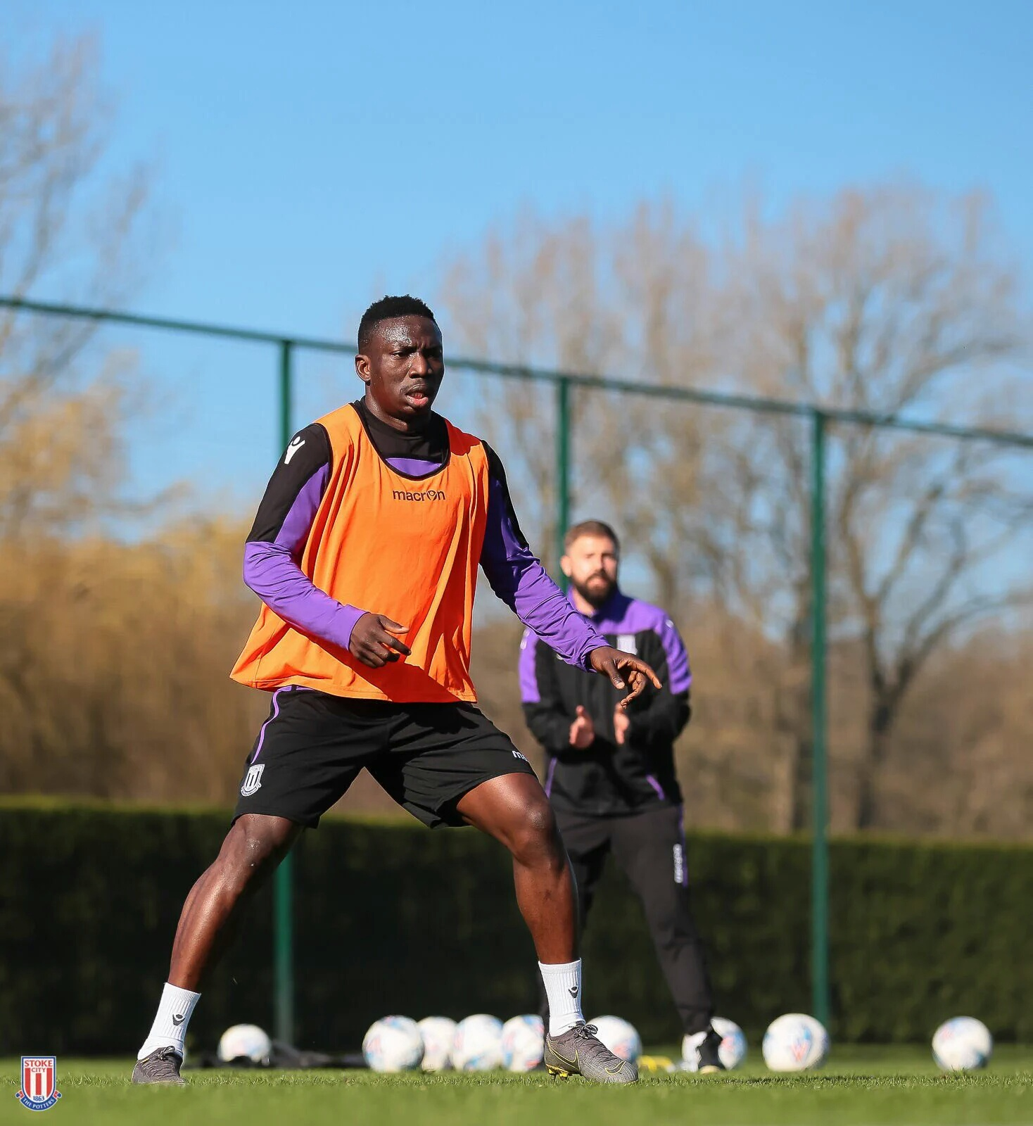 Etebo Resumes Stoke City Training After Missing QPR Clash Over Injury