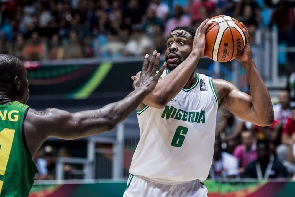 Diogu Eager To Make Impressive Debut For Nigeria At FIBA World Cup