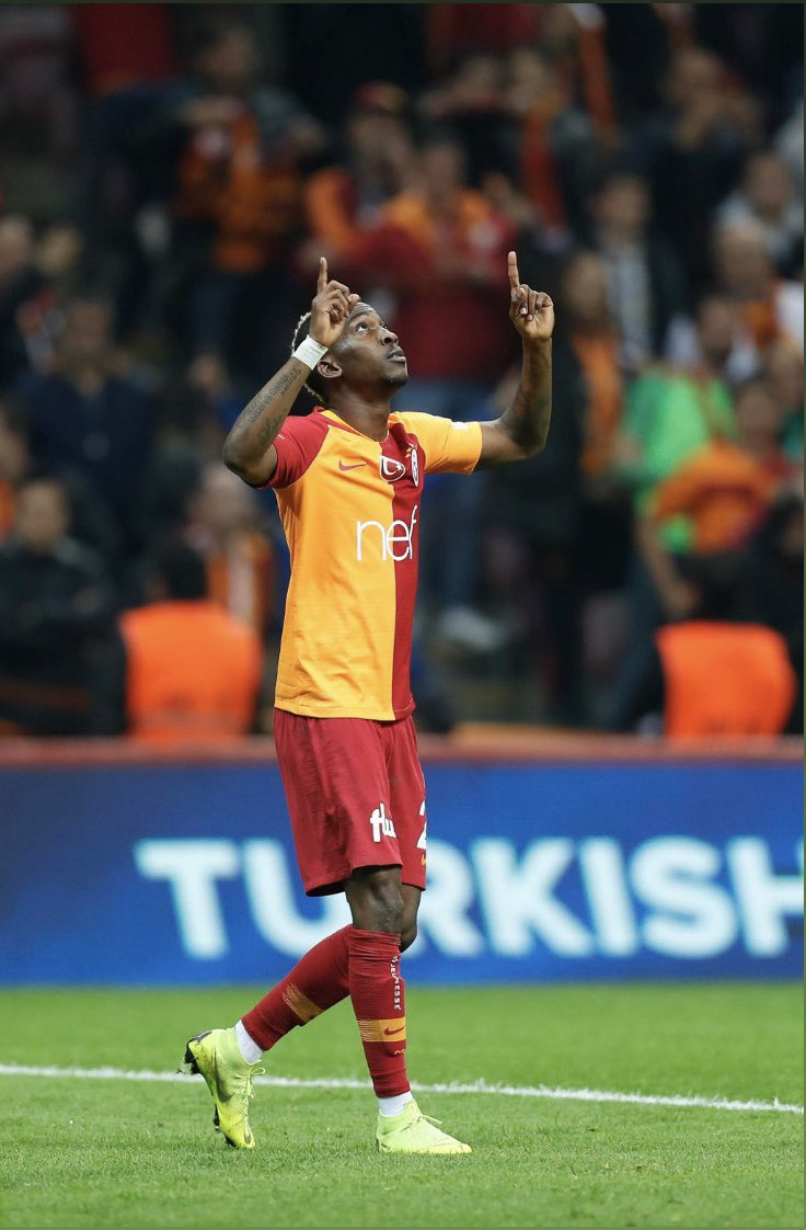 Onyekuru Delighted To Score Twice For Galatasaray In Win Over Antalyaspor
