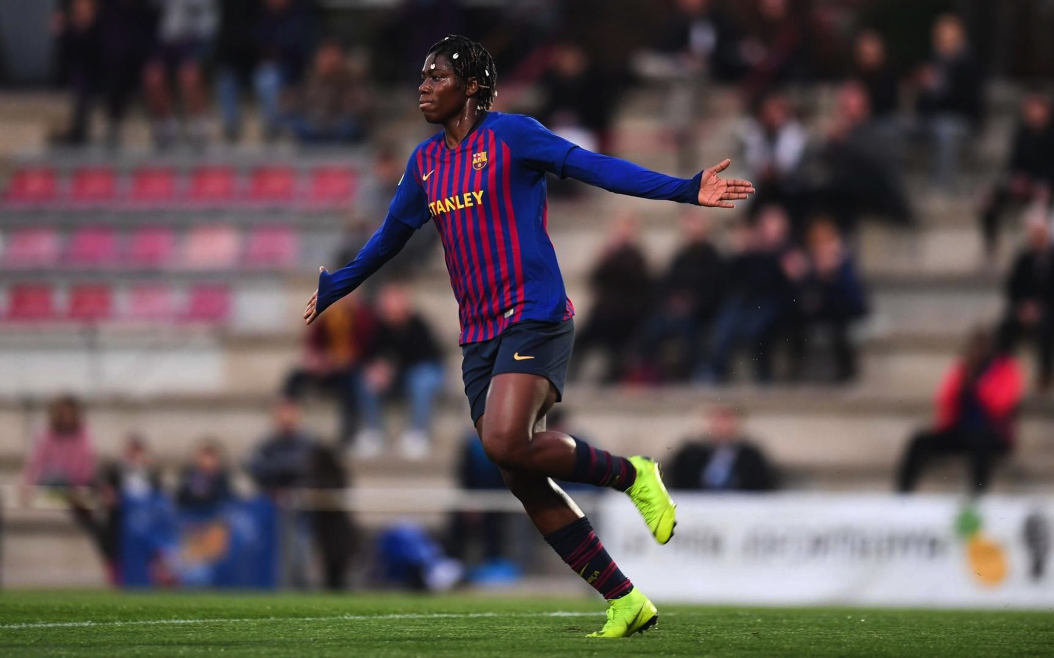 Oshoala Thrilled To Hit Target In Barcelona Ladies Win Over Real Sociedad