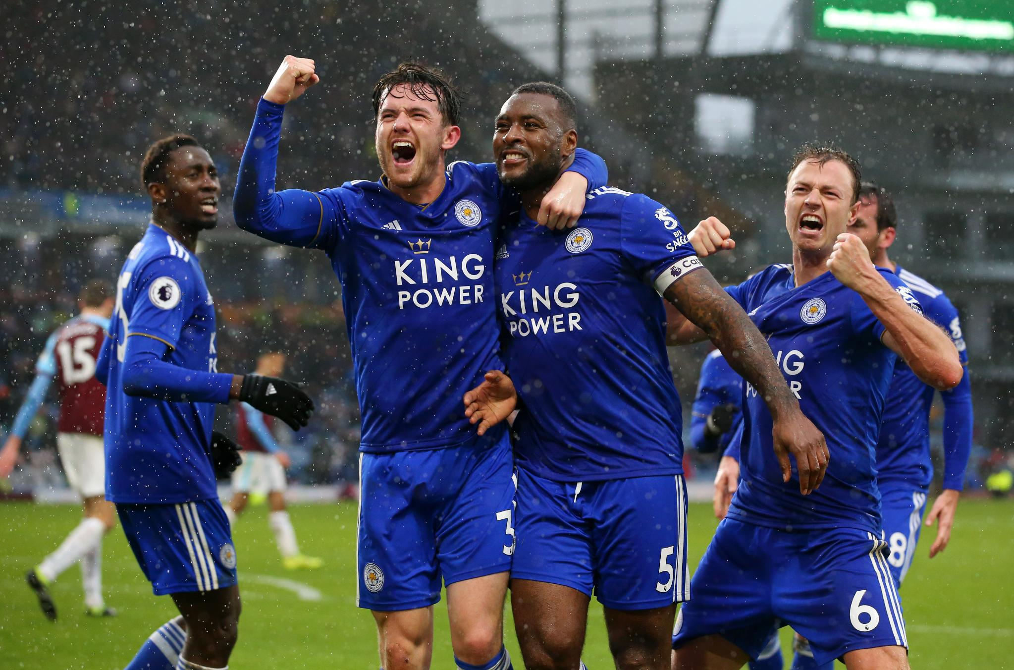EPL: Ndidi Stars, Iheanacho Benched As 10-Man Leicester Win At Burnley
