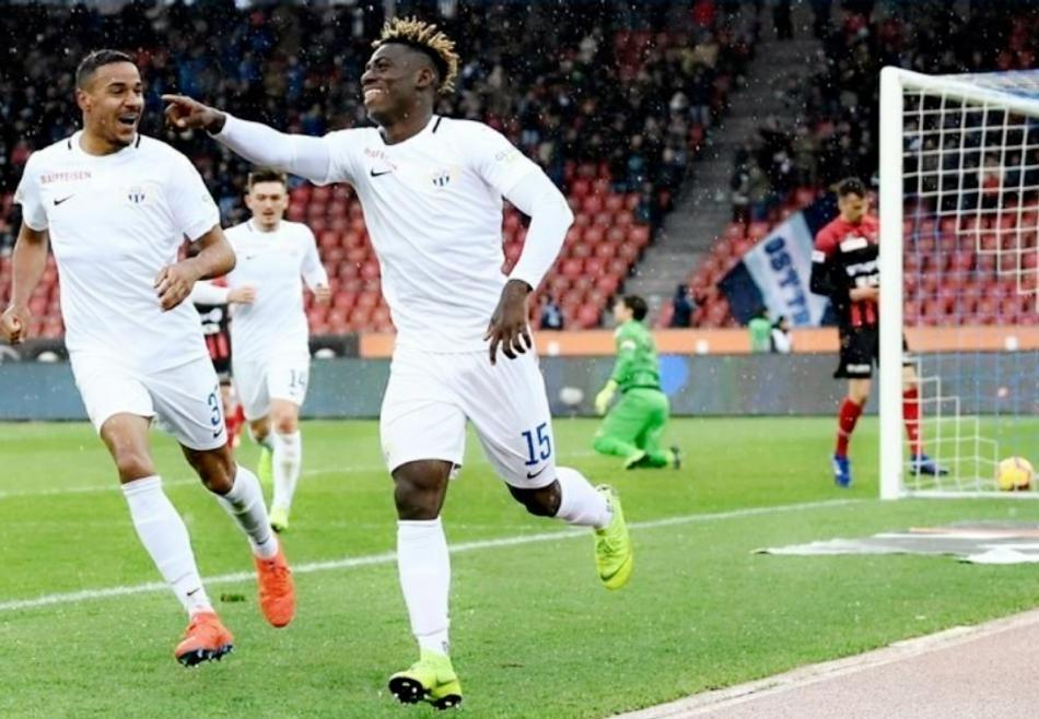 Odey Happy To Make Team Of The Week In Switzerland