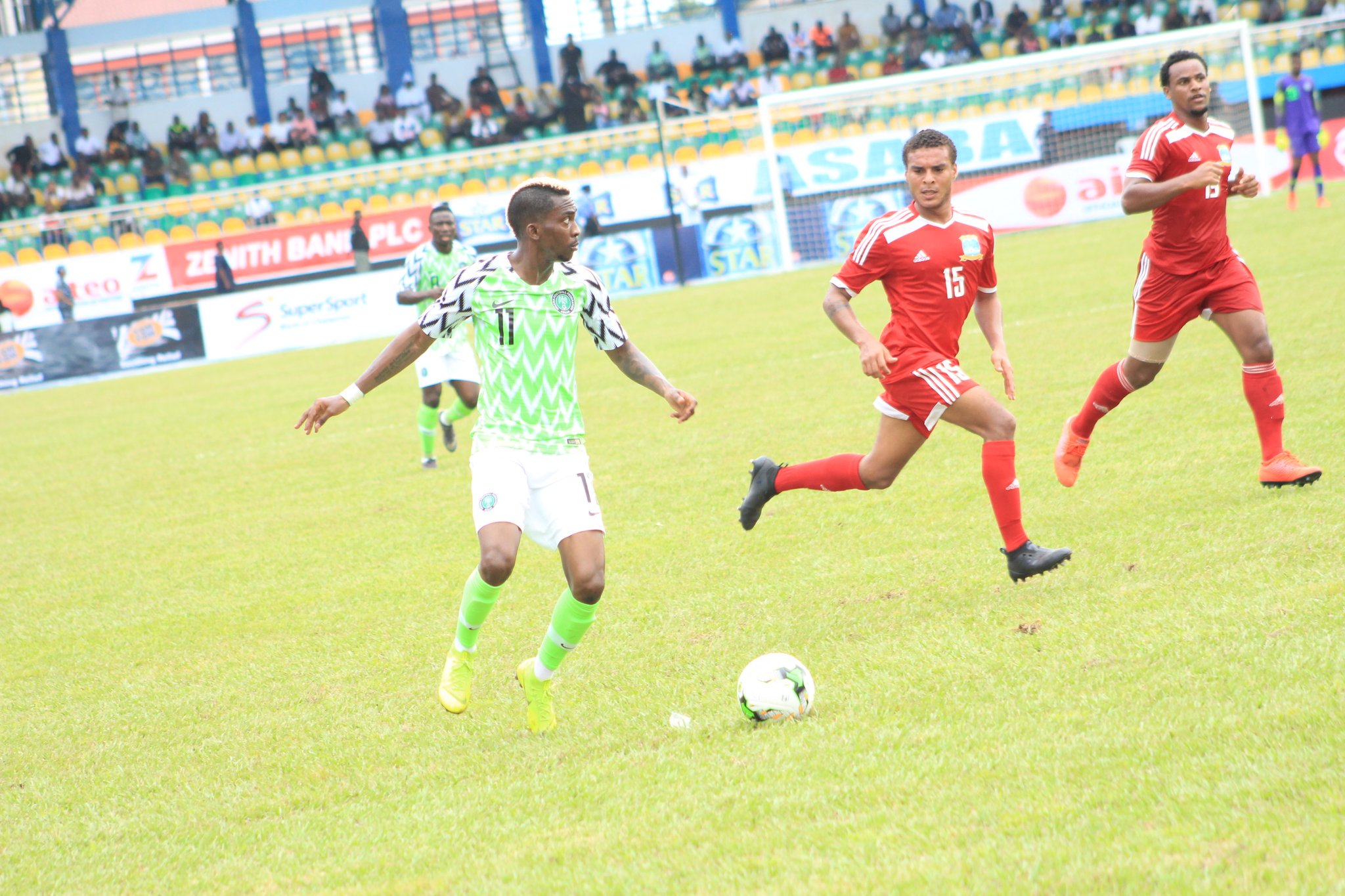 ABOVE AVERAGE: Super Eagles' Players' Rating Vs Seychelles In Asaba