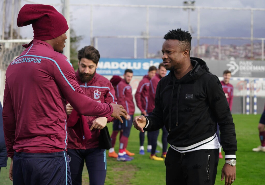 Onazi Visits Trabzonspor Teammates  In Training,  Steps Up Recovery From Injury