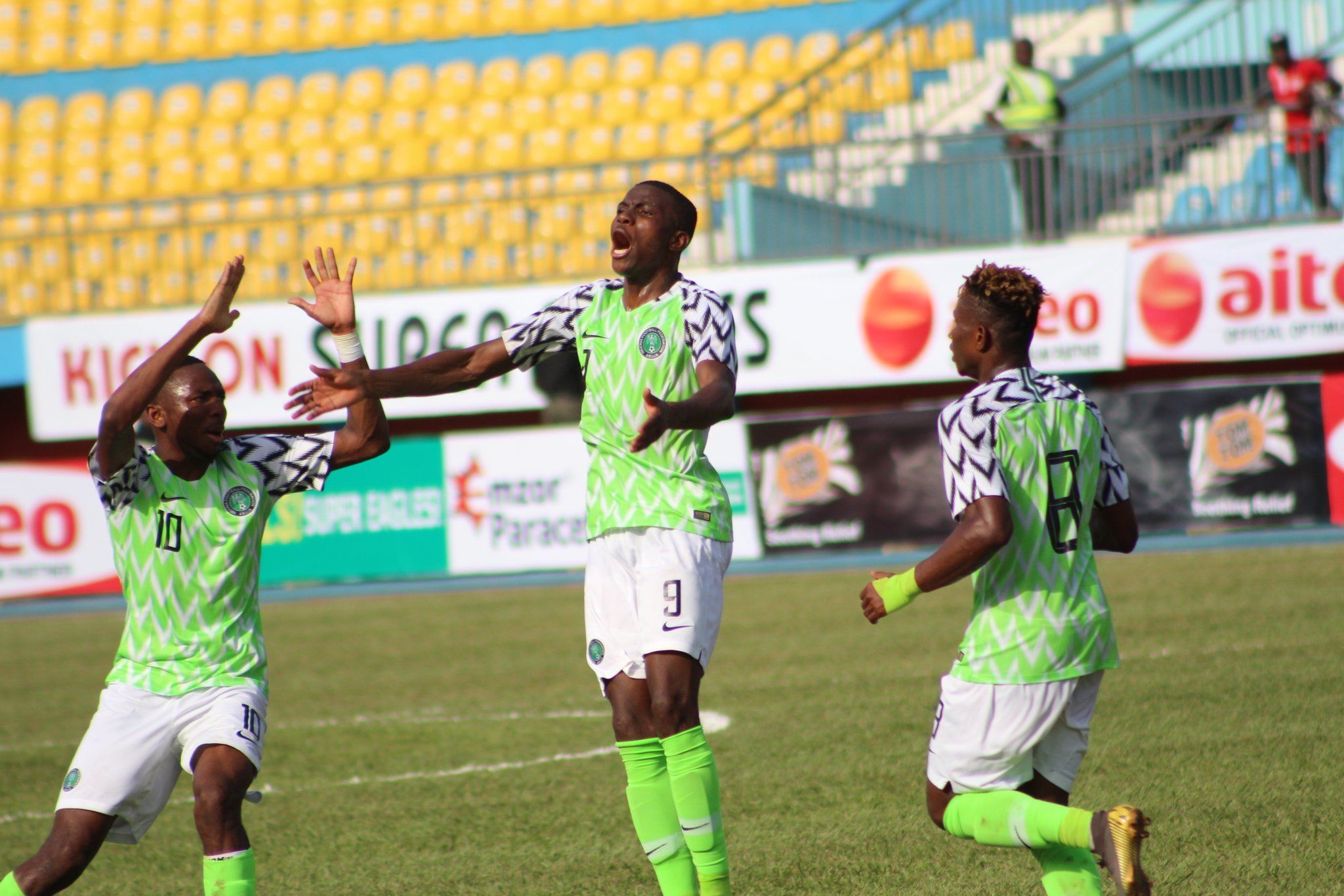 U-23 AFCON Qualifiers: Osimhen Bags Hat-Trick As U-23 Eagles Maul Libya 4-0 In Asaba, Advance To Final Round On 4-2  Aggregate