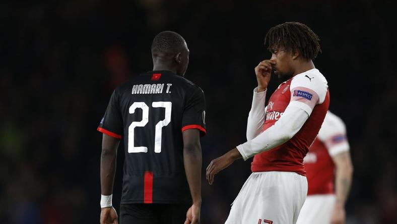 EXCLUSIVE: Iwobi Explains Reason For 'bad breath' Gesture On Traore