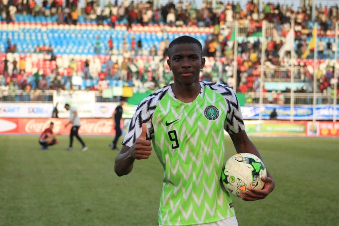 Osimhen Targets Inclusion In Super Eagles' AFCON 2019 Squad