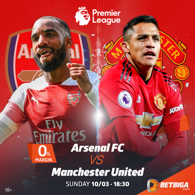 2018/19 EPL Betting Preview: Arsenal Vs Manchester United