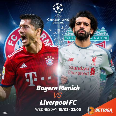 2018/19 UEFA Champions League Preview: Bayern Munich Vs Liverpool