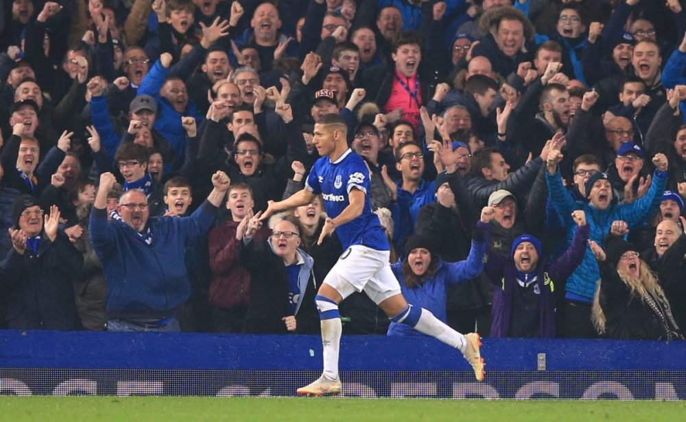 Everton Ace Hails His Team-Mates