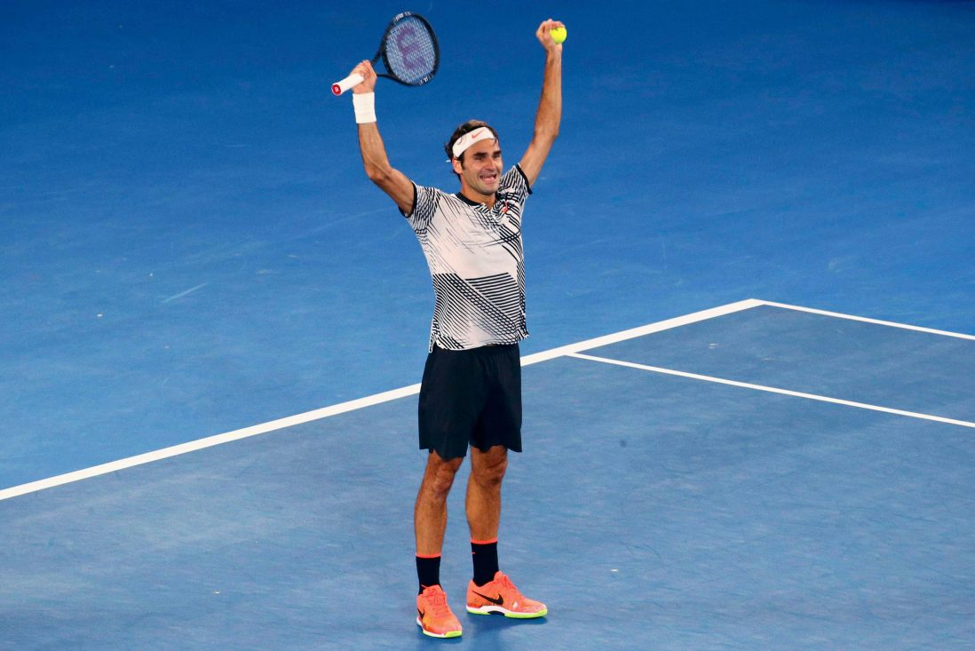 Federer Revels In Landmark Win