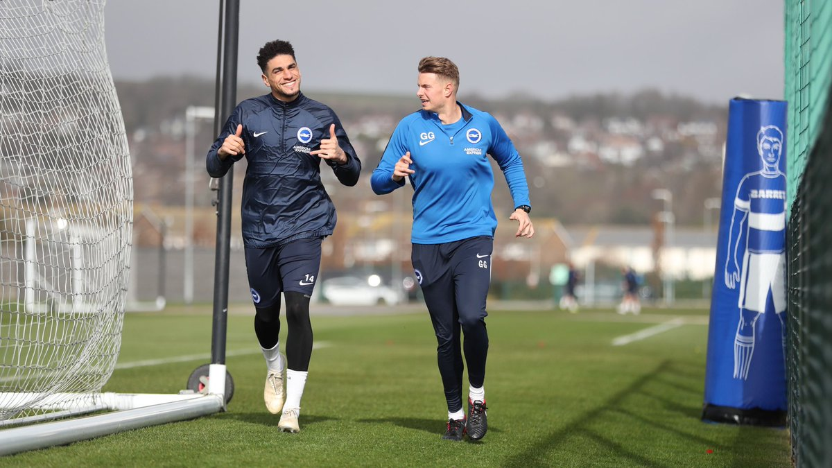 Balogun Happy To Be Back In Brighton Training