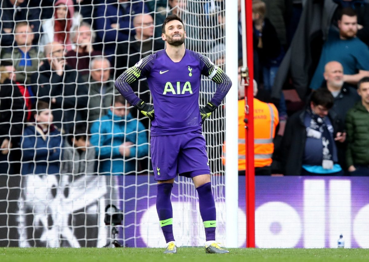 Lloris Reveals Top-Four Fears