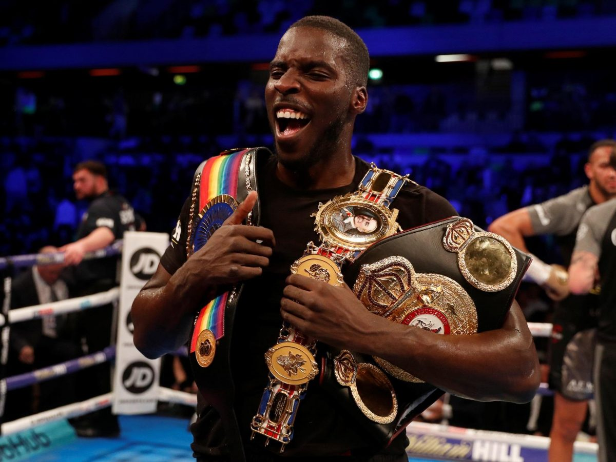 Okolie Hoping To Move Up In Class