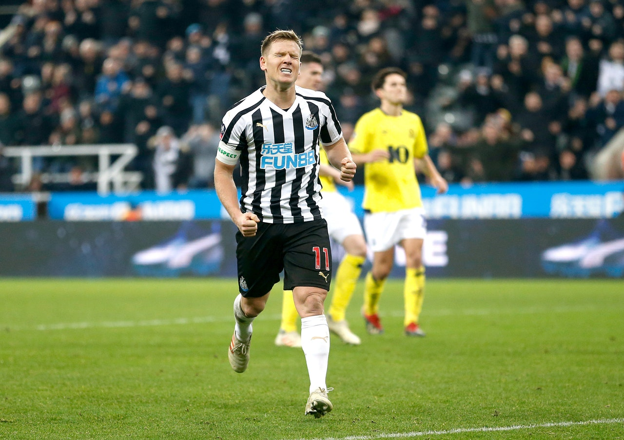 Ritchie Eyes Top-Half Finish For Newcastle
