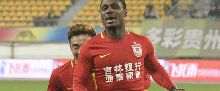 CSL: Ighalo On Target As Shanghai Shenhua Secure First Win Of The Season