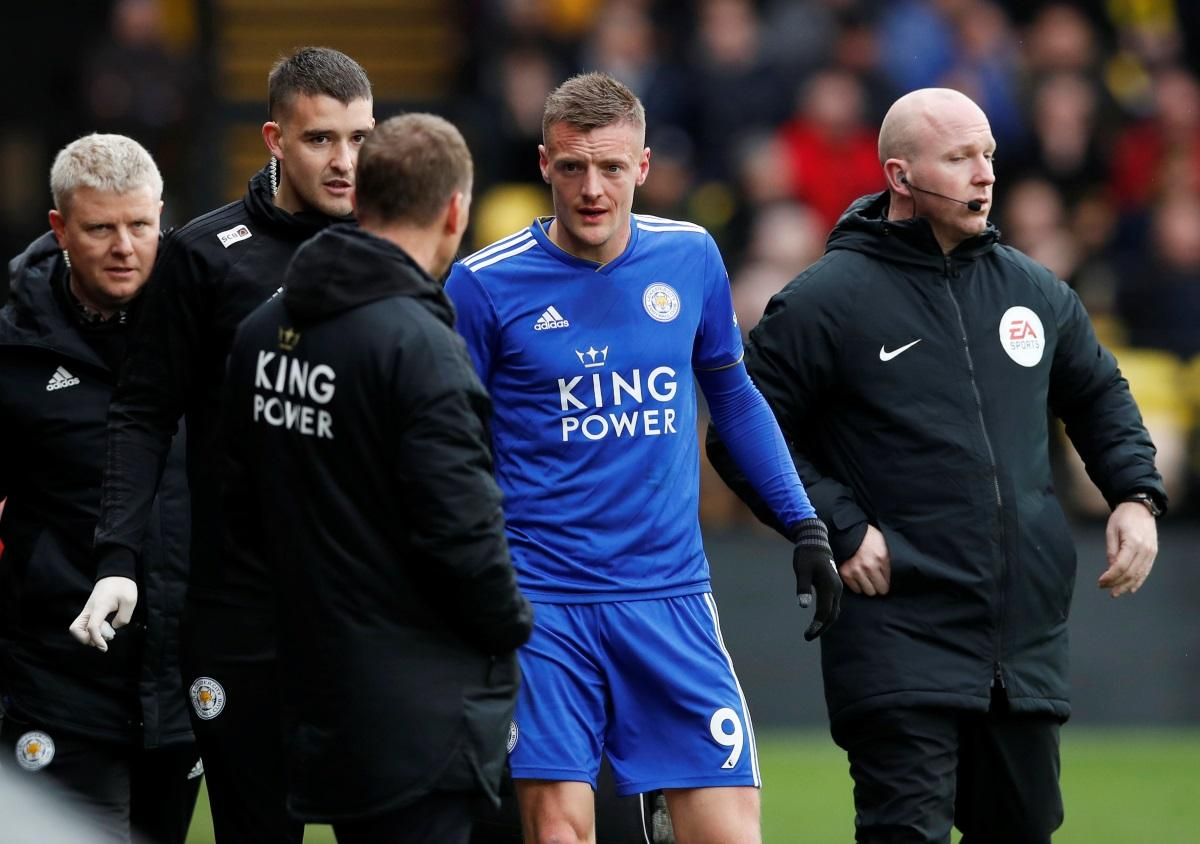 Vardy Fit To Face Cottagers