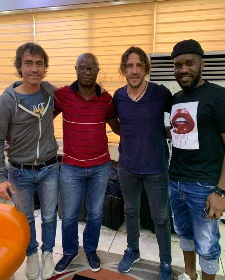 The Unmissable Frenzy Begins: Puyol Is In Nigeria!