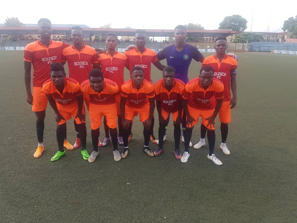 Box 2 Box FC Dump Holders, MFM Out Of Lagos FA Cup