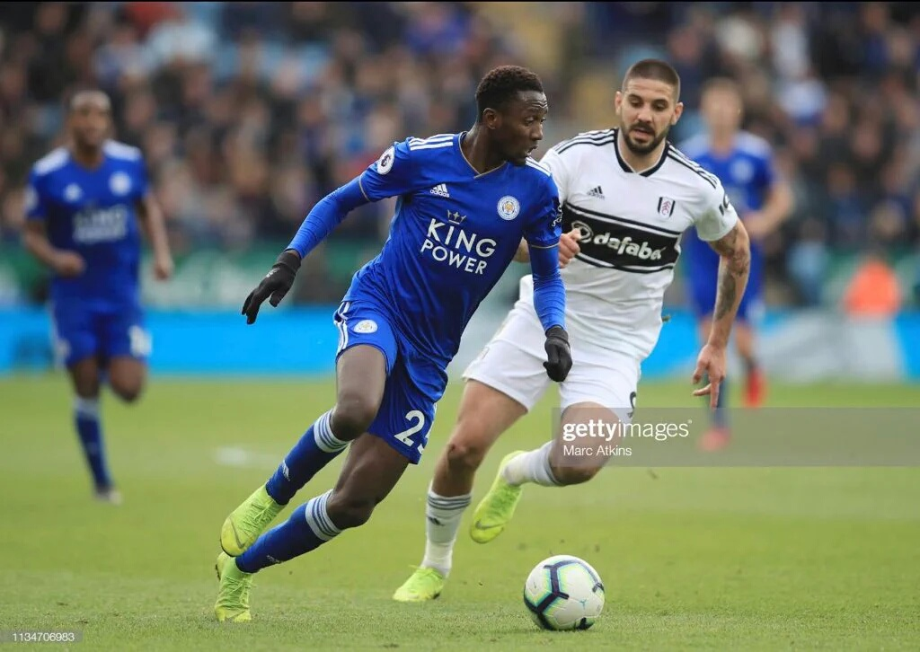 Ndidi Nominated For PFA Fans ' Player Of The Month Award
