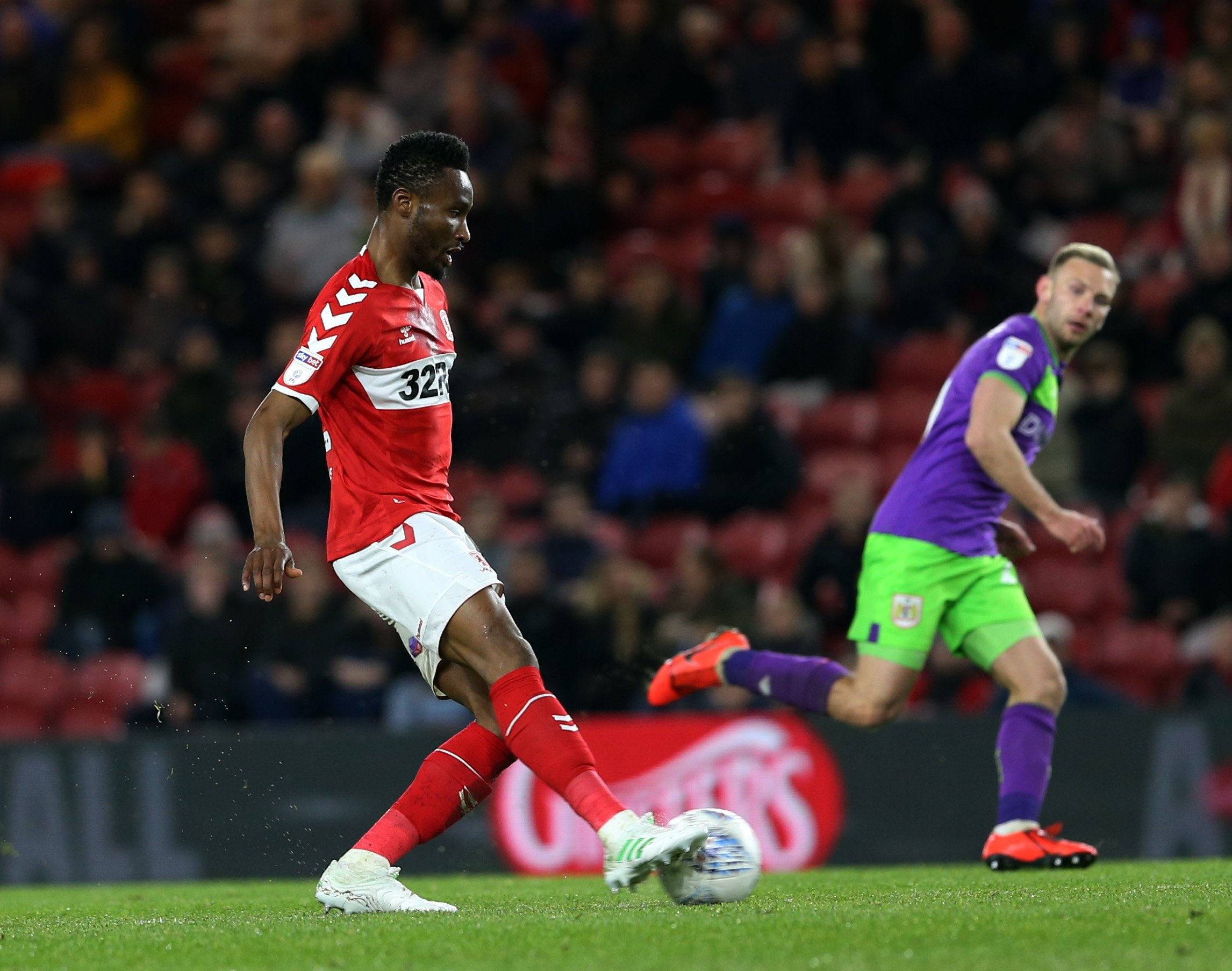 Mikel Worries Over Boro's Struggles In Front Of Goal