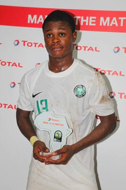 U-17 AFCON: Amoo  Named Man Of The Match In Golden Eaglets Win Vs Tanzania