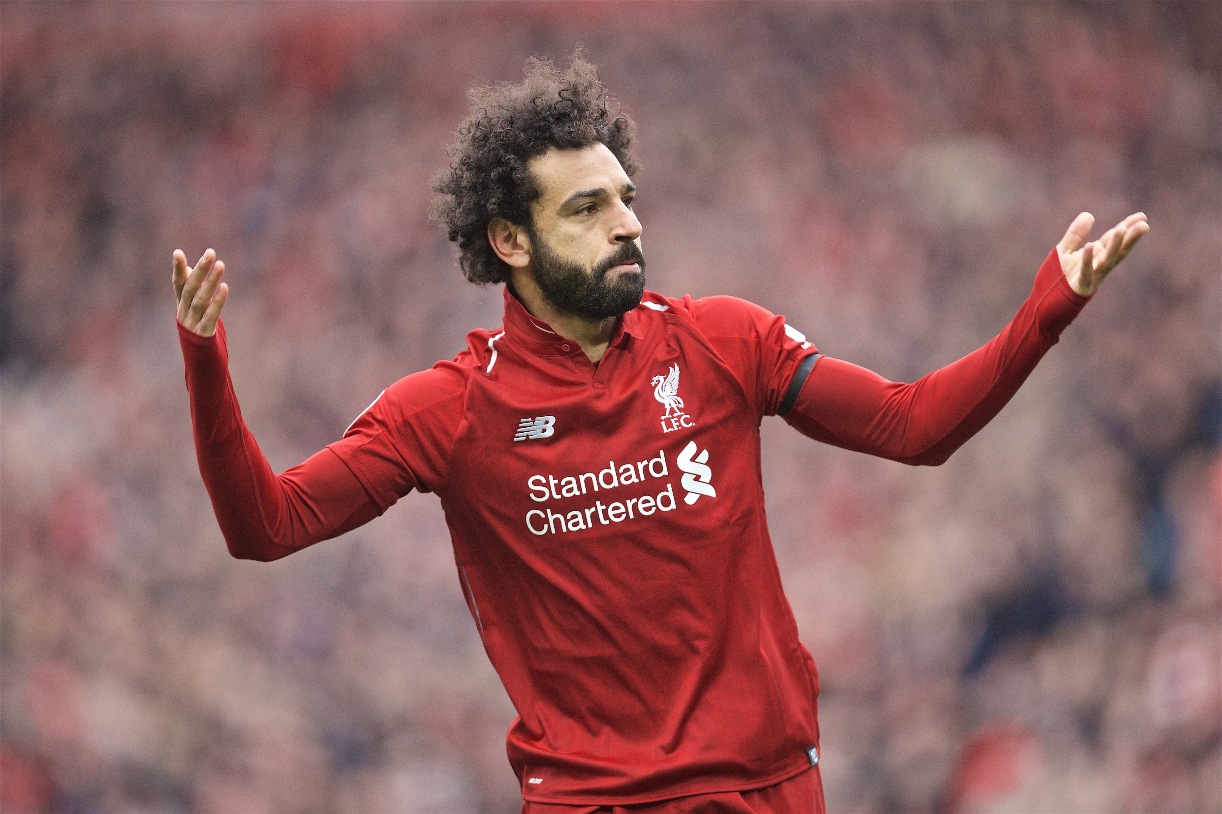 Salah Raring To Score Liverpool Winner Vs Spurs In UCL Final