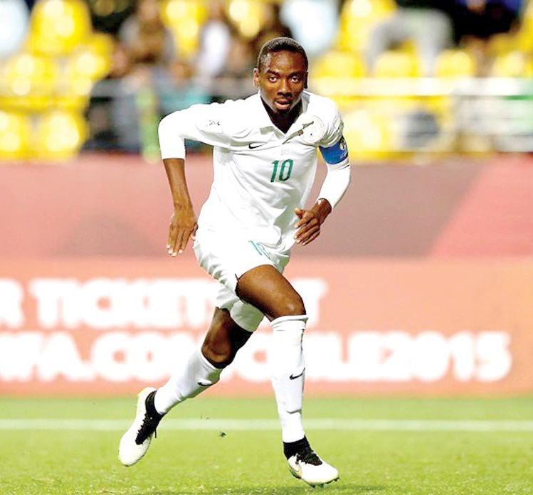 Nwakali Joins Olympic Eagles' Camp Ahead 2019 U-23 AFCON Finals