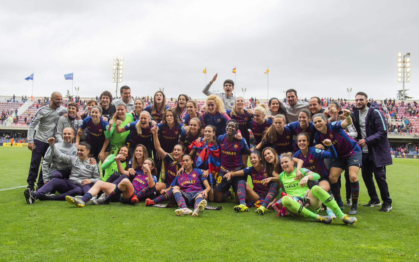Oshoala In Action As Barcelona Ladies Beat Bayern To Reach Women's UCL Final