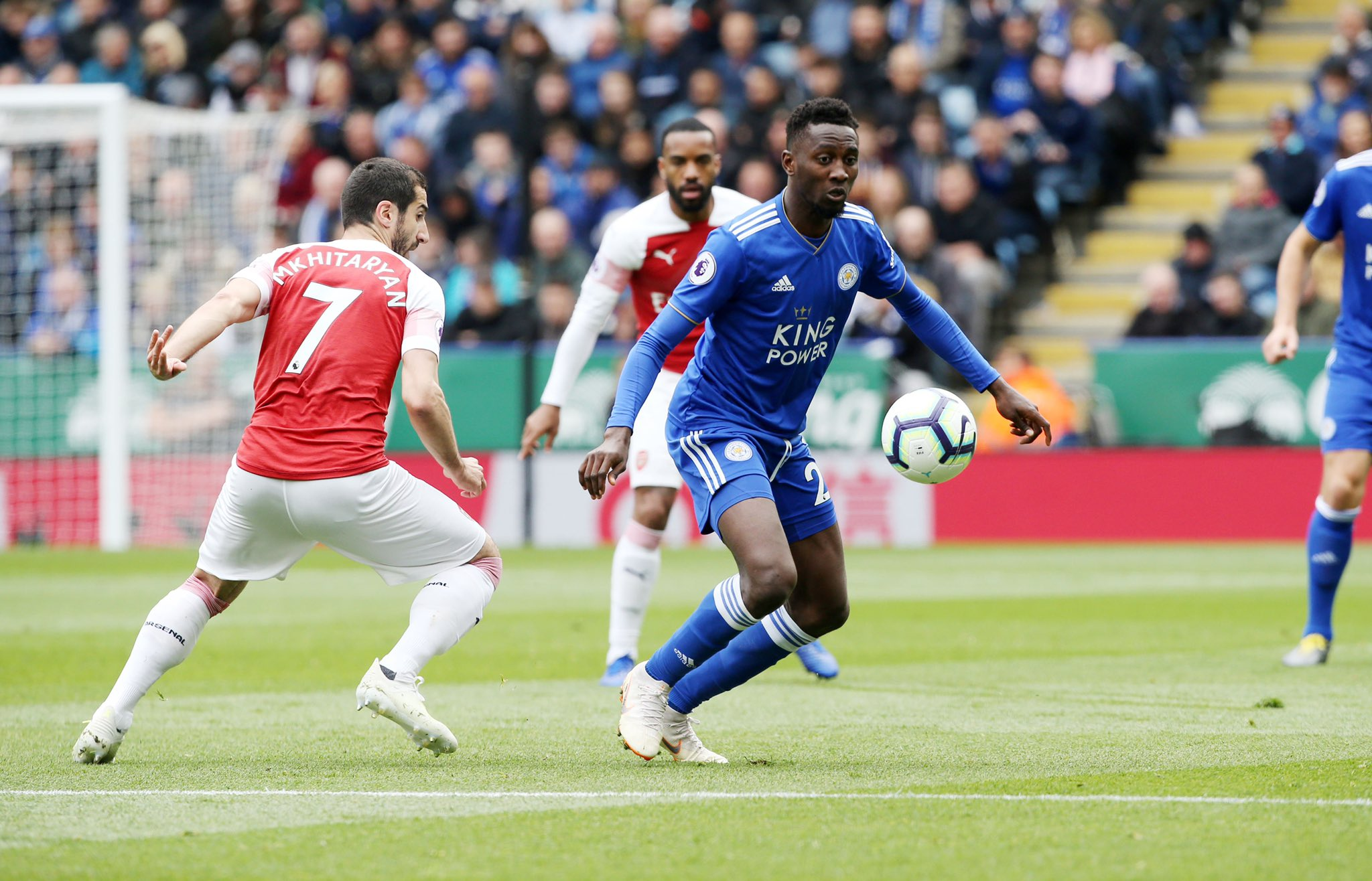 Rodgers: Why I Subbed Off Ndidi At Half Time In Leicester Vs Arsenal