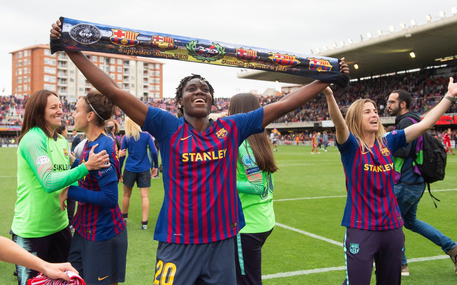 Women's UCL: Oshoala Expects Tough Barcelona Ladies – Juventus Clash Today