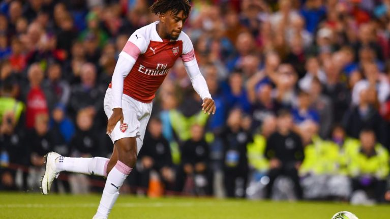 Emery: Iwobi Gaining More Confidence