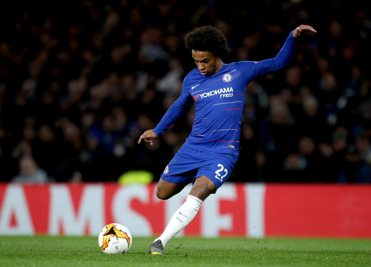 Juventus Keeping Tabs On Willian's Chelsea Contract