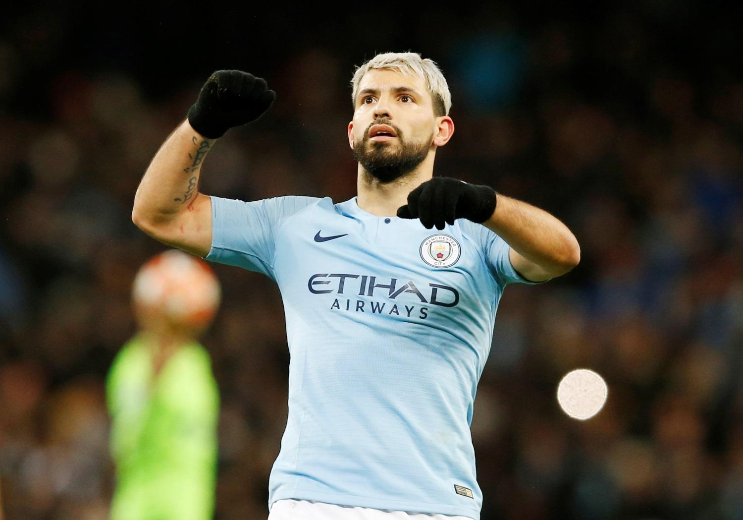 City Handed Aguero Boost