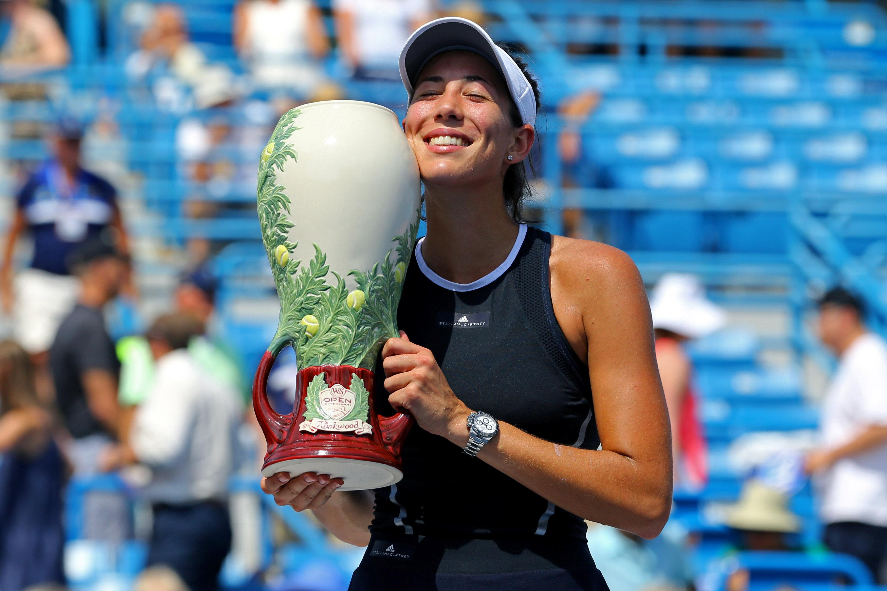 Muguruza Defends Monterry Open Title
