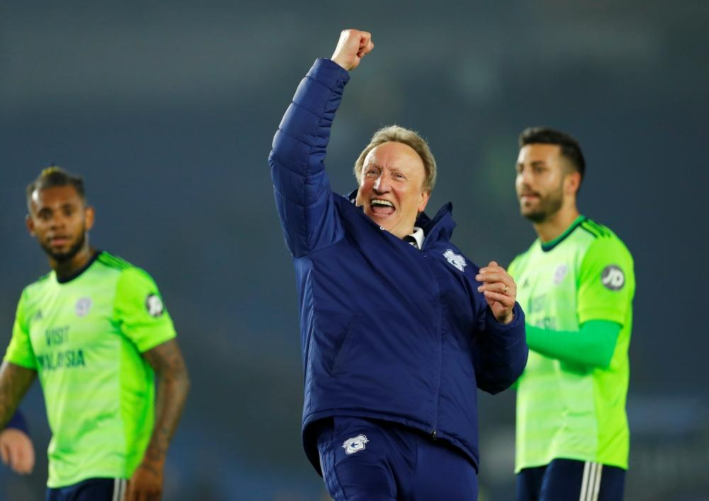 Warnock Hails Bluebirds Attitude