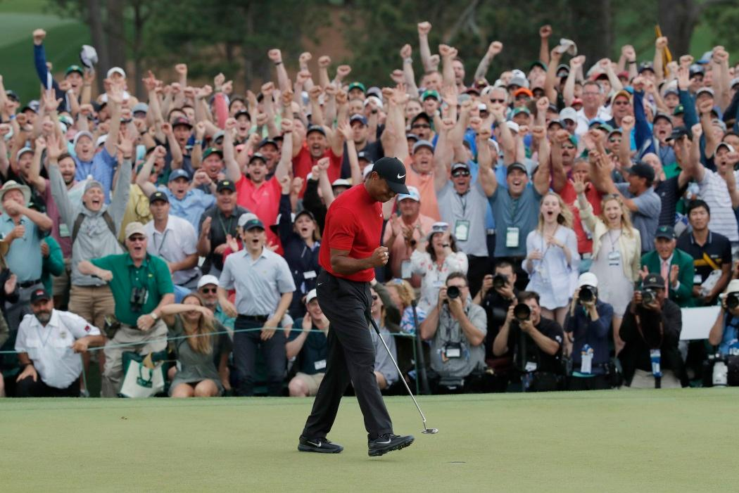 Woods Rolls Back The Years At Augusta