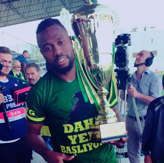 Odibe Relishes Northern Cyprus League Title Win