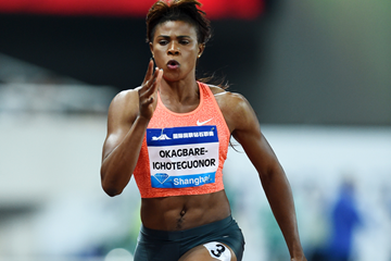 Okagbare Chases History To Monaco,  Eyes Africa's First 200m Sub-22 Secon