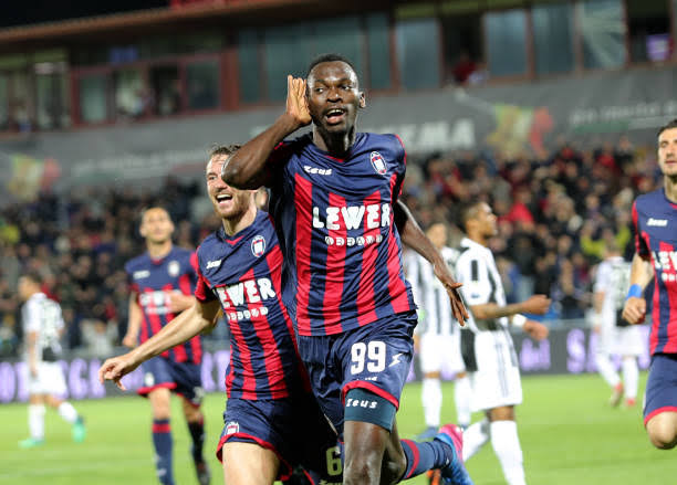 Red Hot Nwankwo Scores 14th Serie B Goal For Crotone In Home Win Against Ascoli