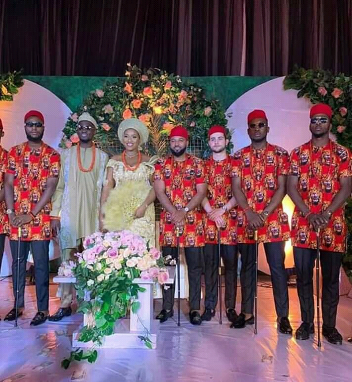 Ndidi Ties The Knot In Traditional Wedding Ceremony With Girlfriend Fortune